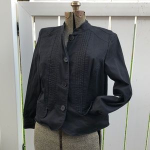 Black military style XL jacket